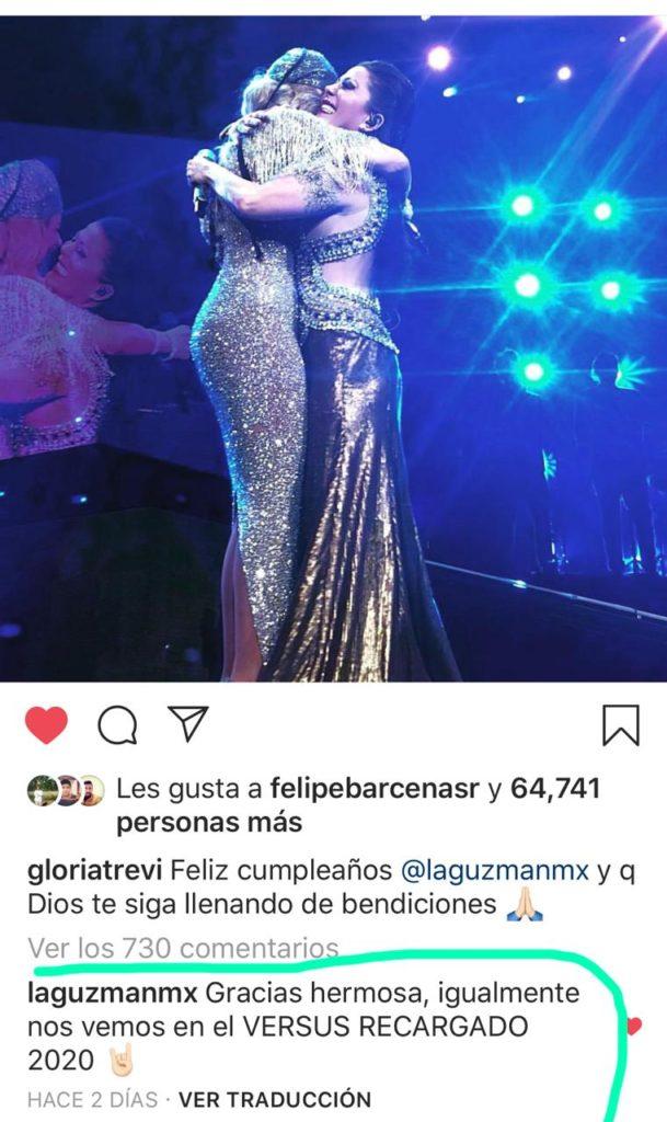 concierto de gloria trevi 2020